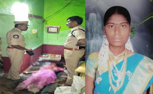 Married Woman Murdered in Anantapur - Sakshi