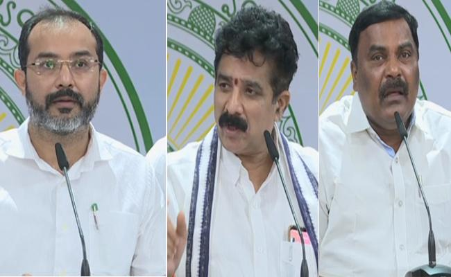 YSRCP MLA Hafiz Khan Slams On Chandrababu Naidu And TDP In Press Meet  - Sakshi