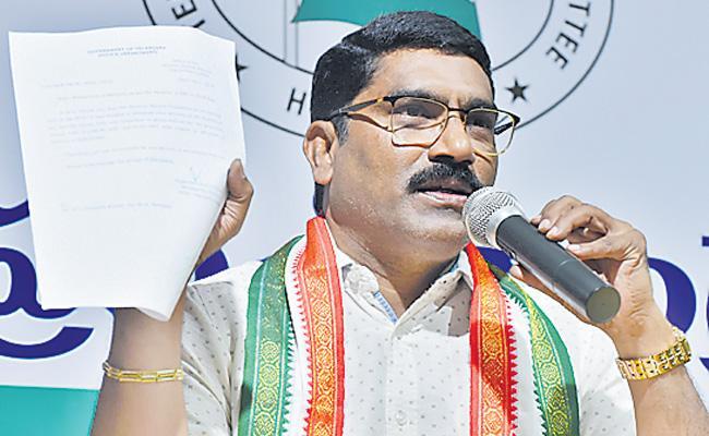 AICC Sampath Kumar Fires On Telangana Government - Sakshi