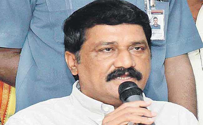 Visakha Is The Right Decision As The Administrative Capital Says Ganta Srinivasa Rao - Sakshi