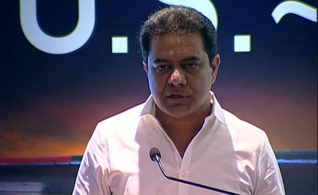 KTR Speech In US And Inda Diffence Aggrements Meeting - Sakshi