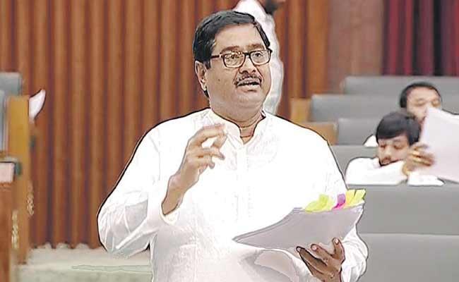 Dharmana Prasada Rao Fires On Chandrababu In Assembly  - Sakshi
