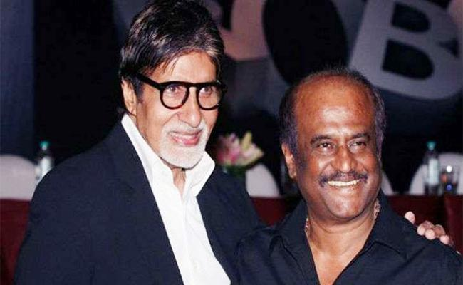 Amitabh Bachchan Advice Dont go to Politics to Rajinikanth - Sakshi