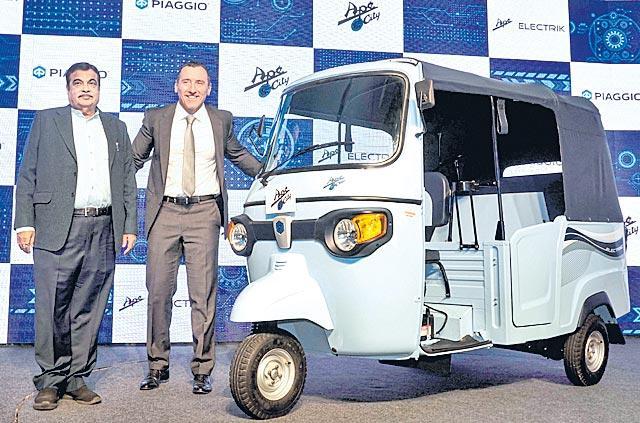 Piaggio enters EV market, launches electric 3-wheeler at Rs 1.97 lakh - Sakshi