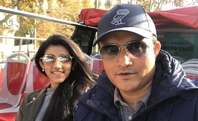 Sourav Ganguly Says His Daughter Post On CAA Is Not True - Sakshi