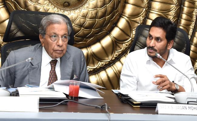 YS Jagan Mohan Reddy Meeting With NK Singh At Tadepalli - Sakshi