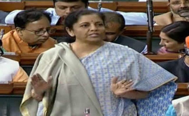 Nirmala Sitharaman On Responded Oppositions Jibe - Sakshi