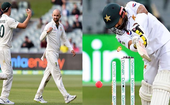Lyon Sets Up Innings Win For Australia Against Pakistan - Sakshi