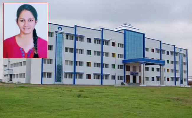 CUTN student Mythili commits suicide by hanging herself at hostel - Sakshi