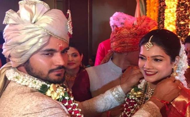 Manish Pandey Gets Married To Actress Ashrita Shetty - Sakshi