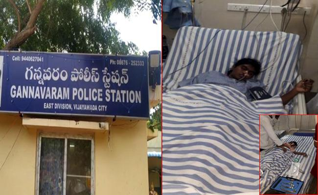 Mother Attempt To Suicide And Give Poison To Children In Krishna district - Sakshi