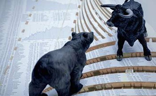 Sensex, Nifty Turn Flat Amid Choppy Trade - Sakshi