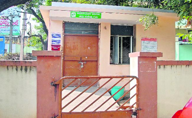 Jagtial Mortuary Has Only 2 Freezer Box For Dead Bodies - Sakshi