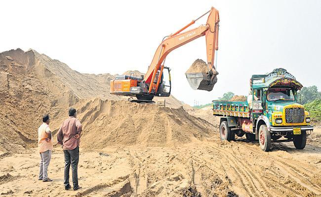 New Sand Policy Offering Good Results In Andhra Pradesh - Sakshi