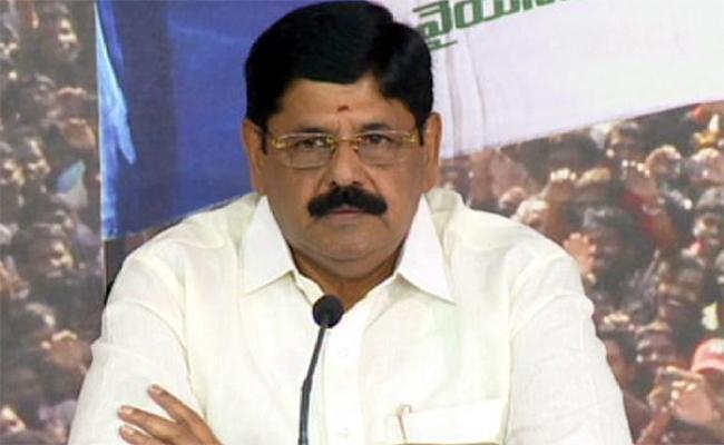 Anam Ramanarayana Reddy: Chandrababu Constructed All Temporary Buildings - Sakshi