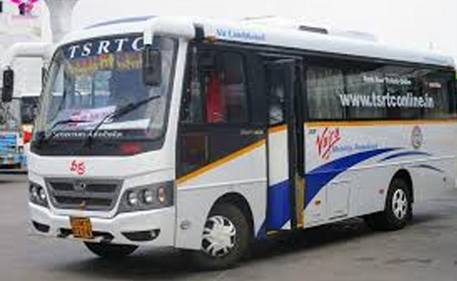 TSRTC Decided To Stop Vajra Bus Services in Telangana - Sakshi