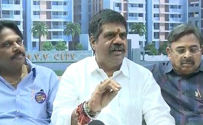 Avanti And Mvv Says All Areas Are Equal Development With YS Jagan Decision - Sakshi