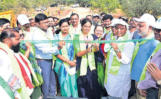 Jungle Camp At Maheshwaram Makes The Jungle Feel - Sakshi