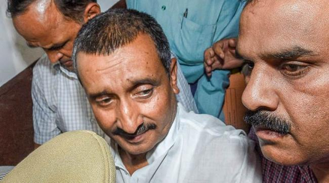 Kuldeep Singh Sengar Gets Life Sentence In Unnao Case - Sakshi