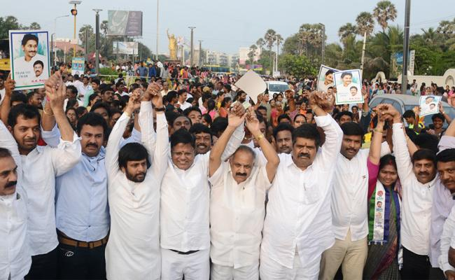 Expert Committee Suggests Visakhapatnam As Executive Capital - Sakshi