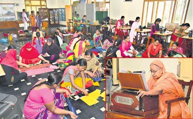Human Service In The Guntur Saradapitham Is Admirable - Sakshi
