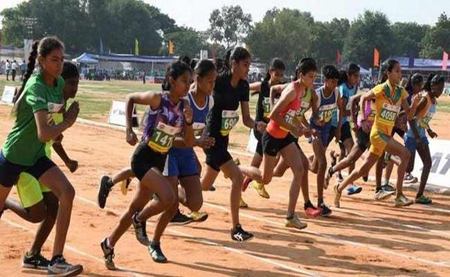 Fifty One Athletes Found Overaged In National Inter District Junior Athletics Meet  - Sakshi