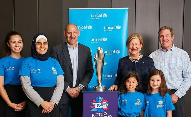 ICC With UNICEF for ICC Women's T20 World Cup 2020 - Sakshi