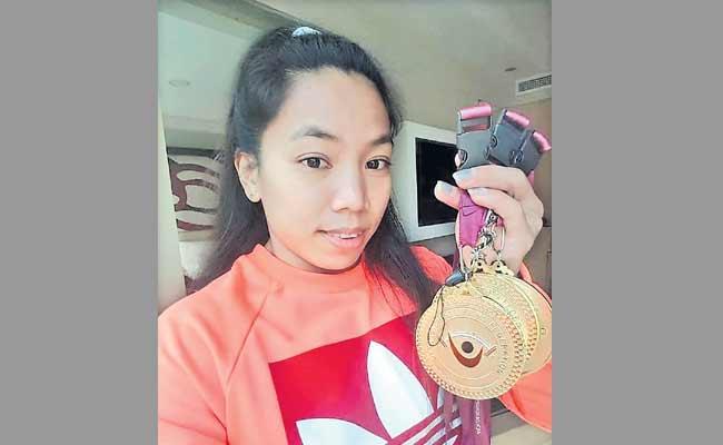 Mirabai Chanu Wins Another Gold At Qatar International Cup - Sakshi