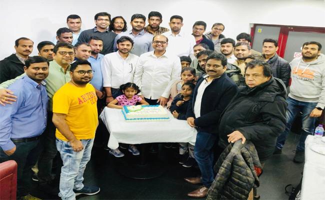 YS Jagan Birthday Celebrations By London And European Wing In London - Sakshi