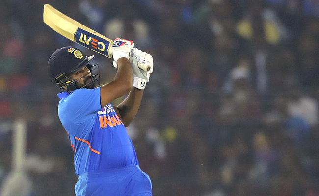 Ind vs WI: Rohit Sharma Gets Another World Record - Sakshi