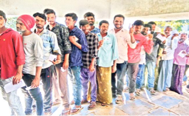 Unemployment Increasing In Adilabad - Sakshi