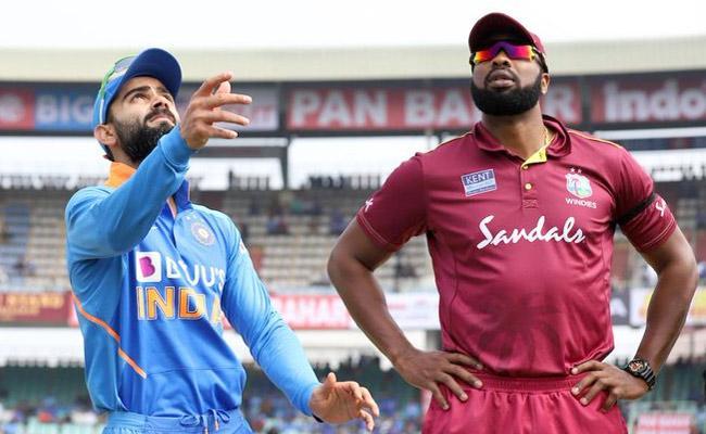 IND VS WI 3rd ODI: Navdeep Saini Makes His Debut - Sakshi