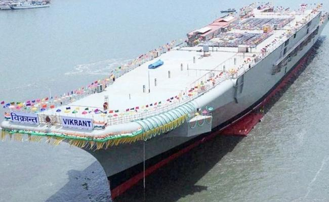 INS Vikrant Services From Next Year - Sakshi