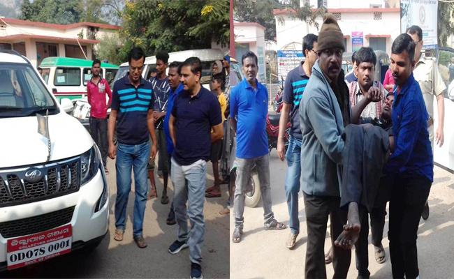 Collector React on Road Accident And Helps Casualties in Orissa - Sakshi