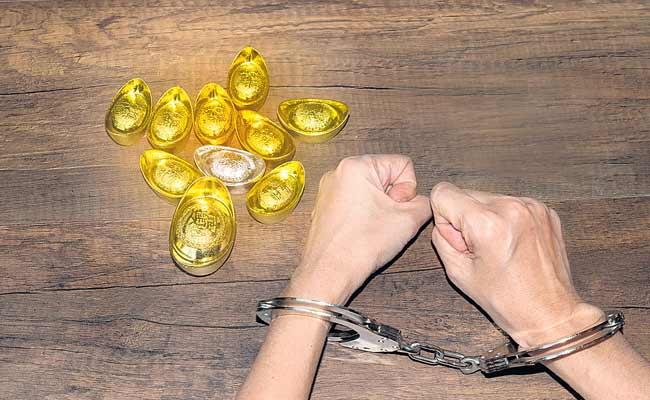 Gold Purchased In Dubai Is Smuggled Into The Country By Their Men - Sakshi