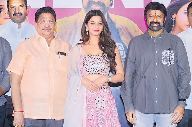 bala krishna speech at ruler movie success meet - Sakshi