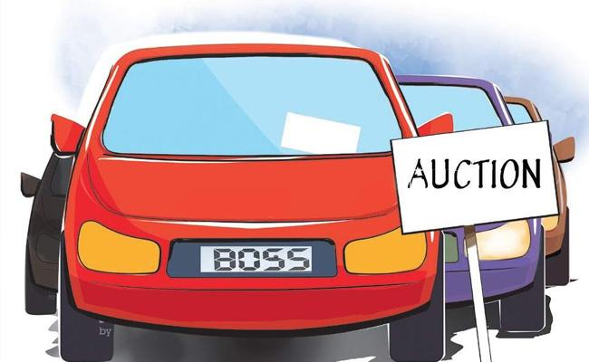 9999 Sold For Highest Amount In Auction Of Fancy Numbers In Hyderabad - Sakshi