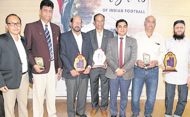 Al Riyada Come Up With A Unique Concept For Hyderabad Football - Sakshi