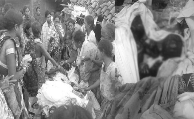 Girl Child Dead in Fire Accident Orissa - Sakshi
