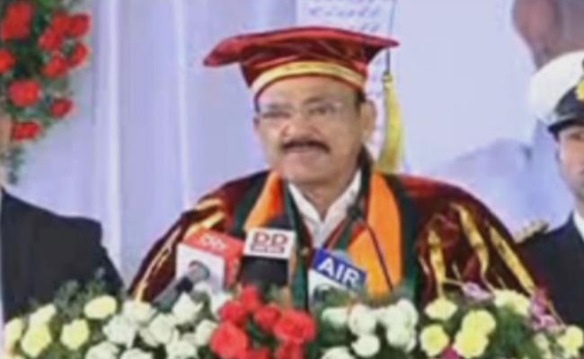 Venkaiah Naidu Speech In NIT Convocation At West Godavari - Sakshi
