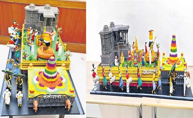 Selected Telangana And Andhra Pradesh Fragments On Republic Day In Delhi - Sakshi