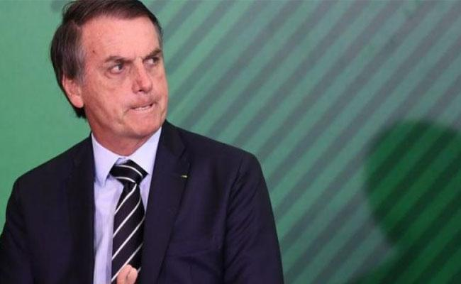 Brazil President Jair Bolsonaro says fine now but lost memory after fall - Sakshi