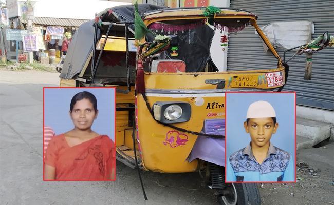 Three Dead in Auto Accident Tadikonda Guntur - Sakshi
