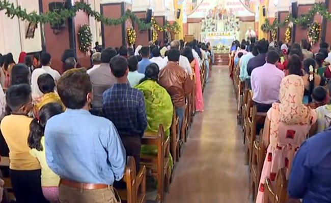 Christmas Celebration In AP And Telangana - Sakshi
