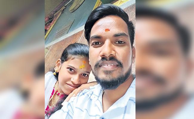 Couple Killed in MMTS Train Accident Chandanagar Hyderabad - Sakshi