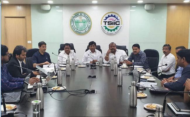 Gangula Kamalakar Meeting With IT Officers In Karimnagar - Sakshi