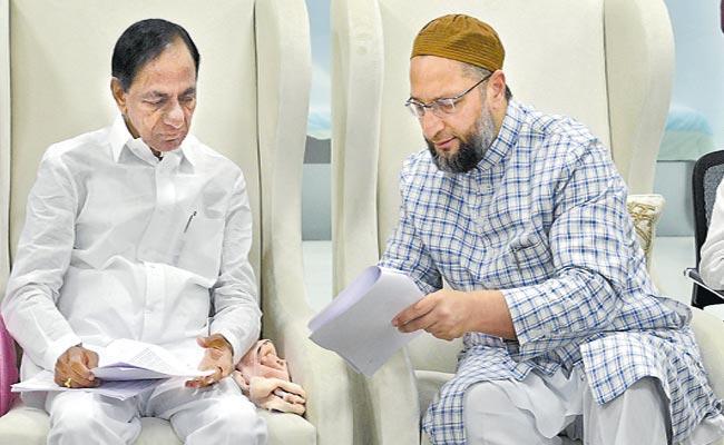 Stop NPR Work In Telangana Asaduddin Owaisi Request CM KCR - Sakshi