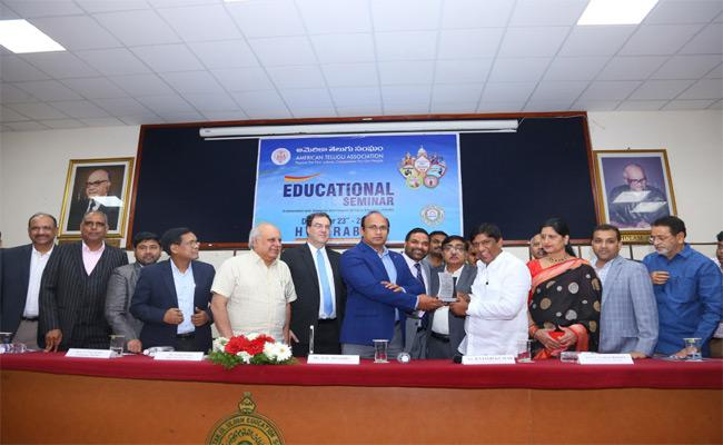 ATA Conducts US Higher Education Seminar In Hyderabad - Sakshi