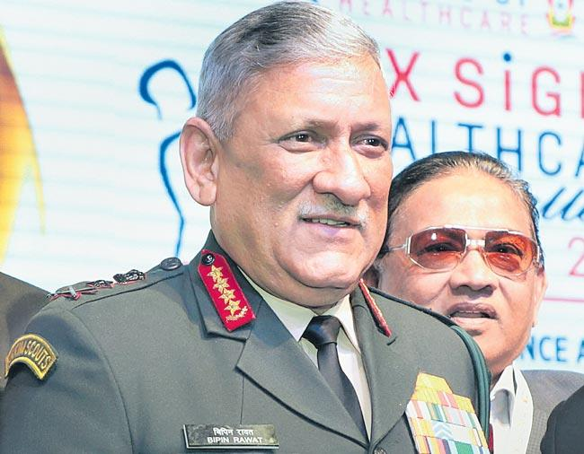 Army chief sparks controversy with remarks on civilian protest - Sakshi