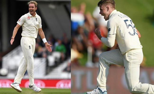 Broad And Curran Best Identical Figures In An Innings - Sakshi